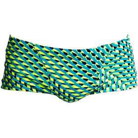 Funky Trunks Classic Trunks Men Green Gator